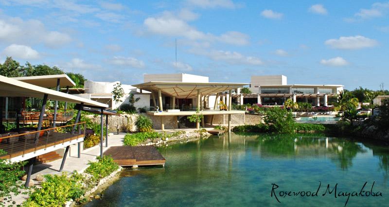 Rosewood Mayakoba along the Mayan Riviera - luxury travel - Mexico