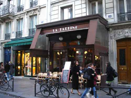 La Tartine, a classic Paris wine bar