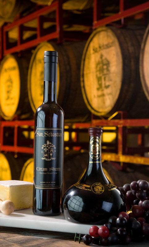 San Sebastian Winery - reds and ports