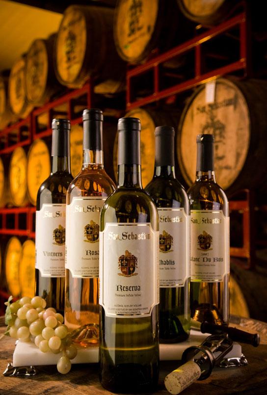 San Sebastian Winery - whites