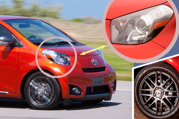 Scion iQ - compact car - fuel efficient - Howard Walker and The Wheel World
