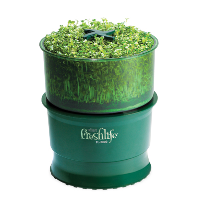 Freshlife automatic sprouter - sprouts - RD Raw Foodie