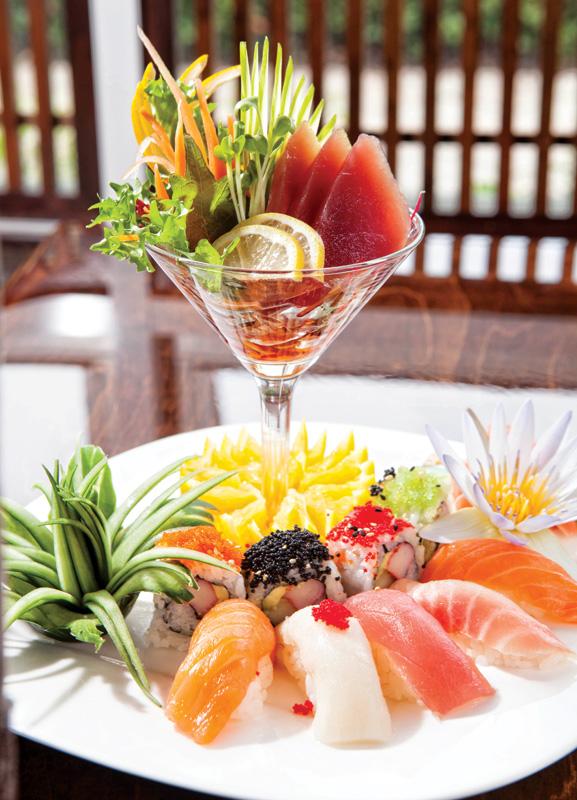 Naples Illustrated's Dining Awards - Best Sushi - Sushi-Thai - Sushi and Sashimi combo