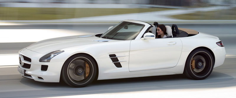 Mercedes SLS AMG Roadster - Howard Walker - Palm Beach Illustrated