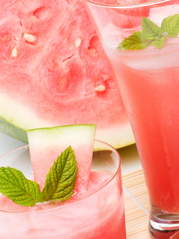 Watermelon-Mint Bellini
