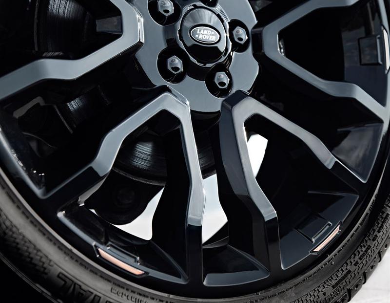 Range Rover Evoque Victoria Beckham Special Edition - rose gold accented wheels