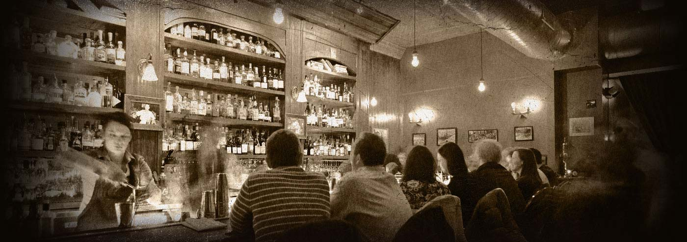 Williams and Graham in Denver, a new American speakeasy