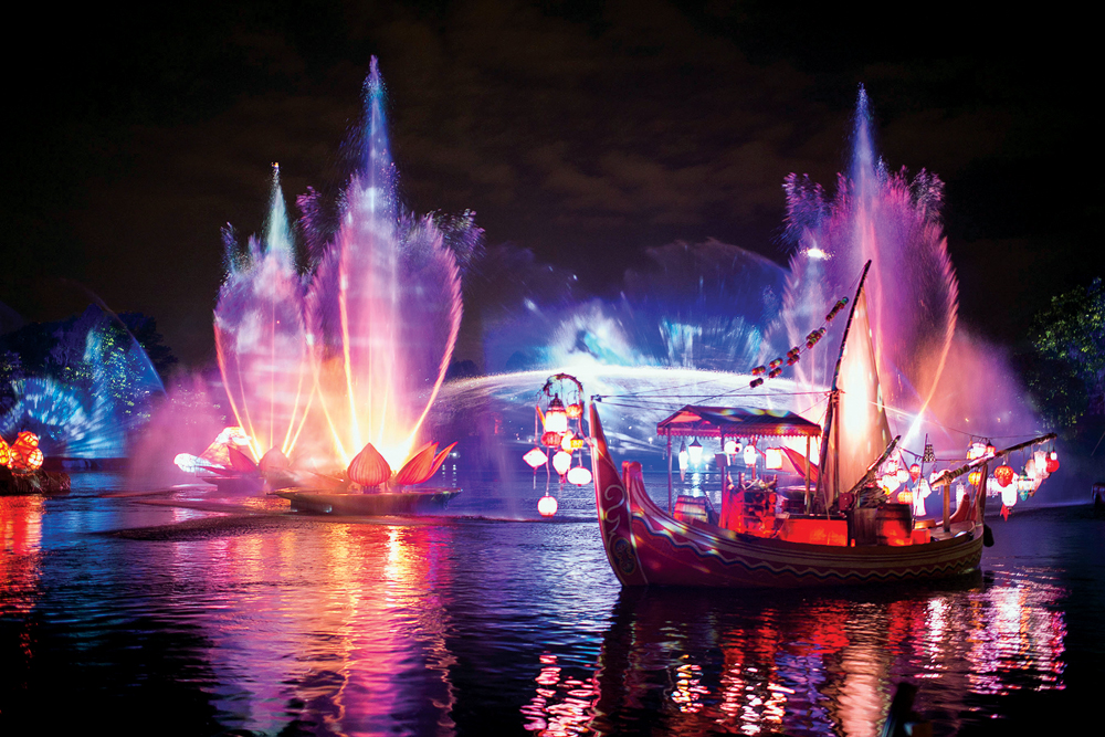 """""""Rivers of Light,""""the majestic nighttime jewel, coming to Disney's Animal Kingdom creates an illuminating musical experience for guests. Currently in development with a premiere date to be announced soon, """"Rivers of Light"""" will celebrate the magic of animals, humans and the natural world with a blend of performers, floating lanterns and theatrical animal imagery. (David Roark, photographer)"""