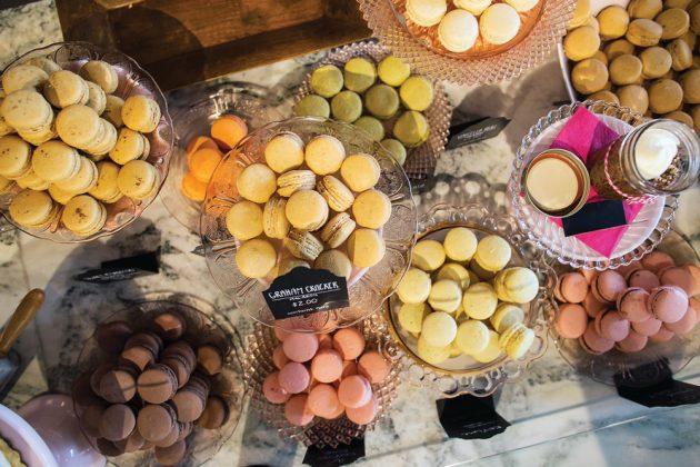 Macarons at Chocolate Pi.