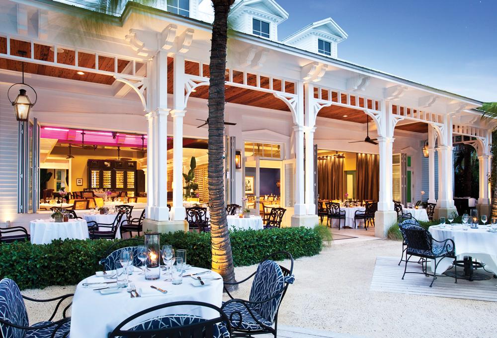 Latitudes Restaurant.