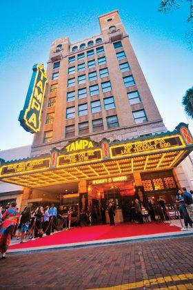The Tampa Theatre.