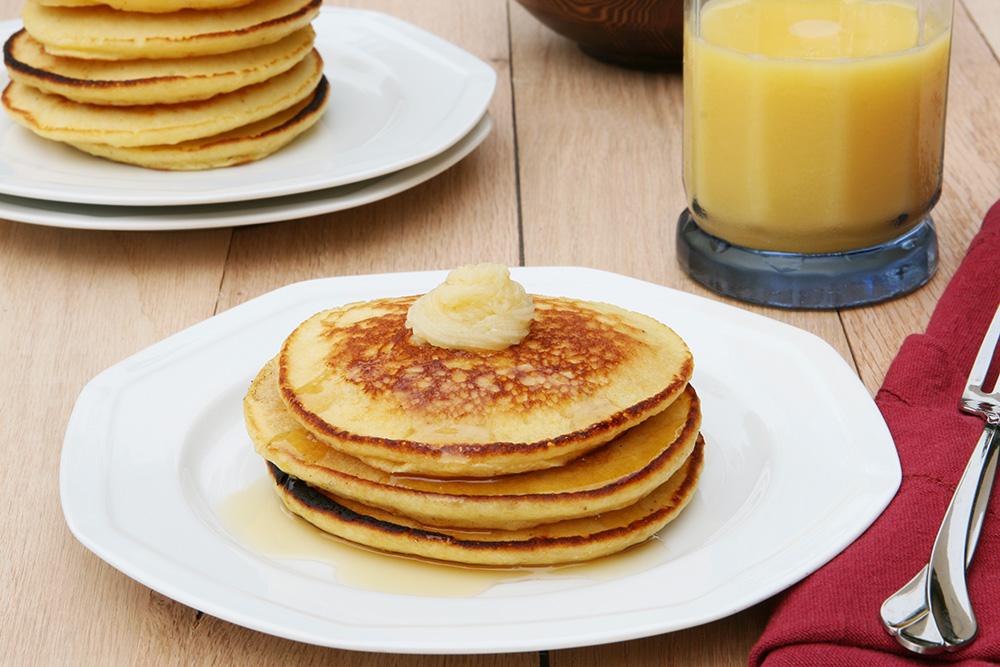 Florida-Citrus-and-Honey-Butter-Pancakes
