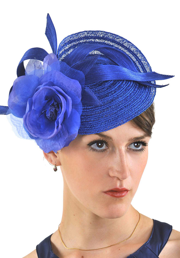 accent-color-royalblue_fascinator_Marilyns