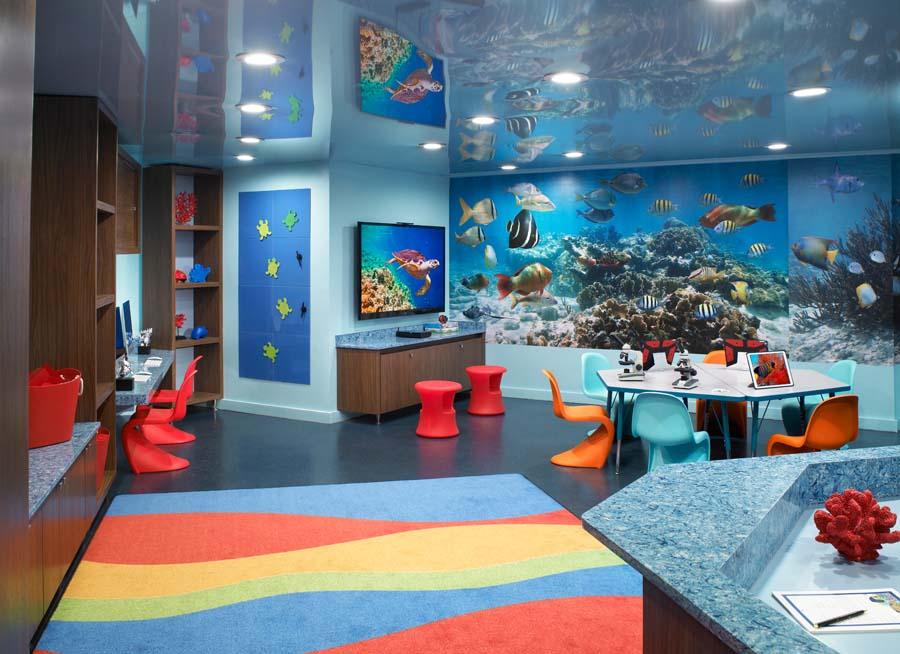 Kids Area At Aqualina
