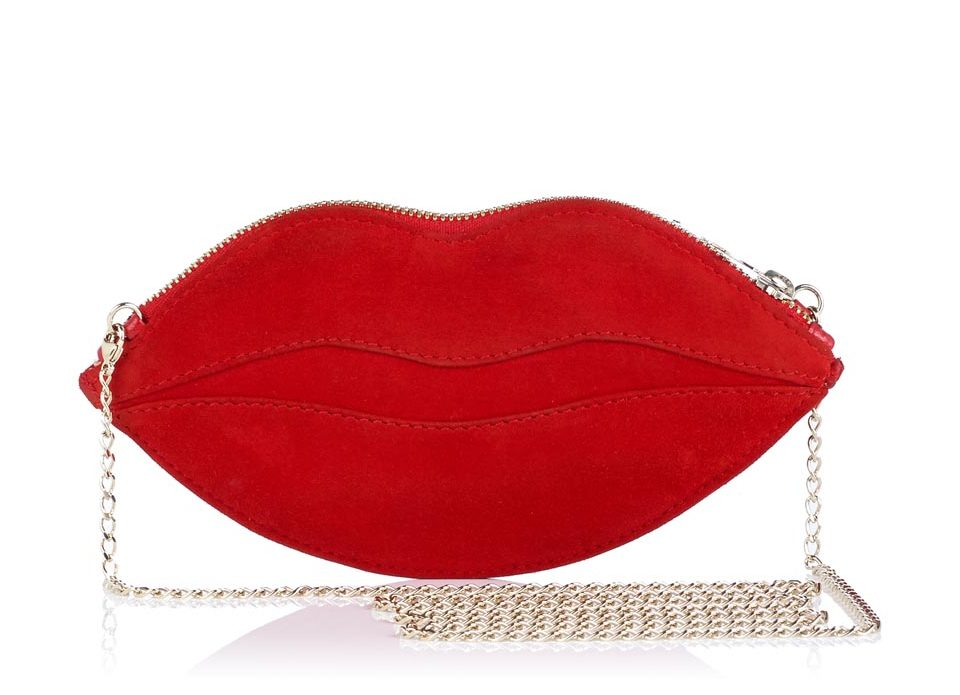 Charlotte Olympia Kiss Me purse ($440), Marissa Collections, Naples