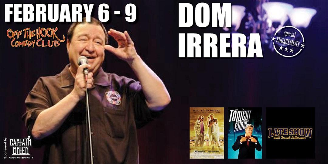 Comedian Dom Irrera