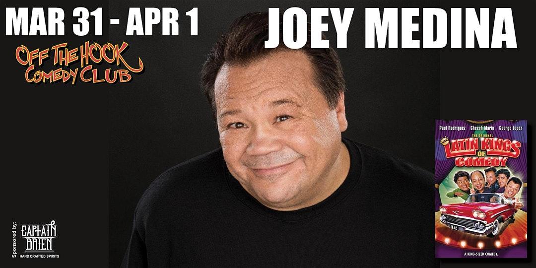 Comedian Joey Medina