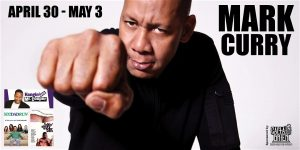 Comedian Mark Curry AKA Mr. Coope