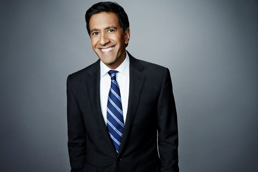 An exclusive lunch with Dr. Sanjay Gupta