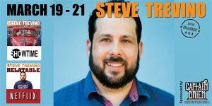 Comedian Steve Trevino
