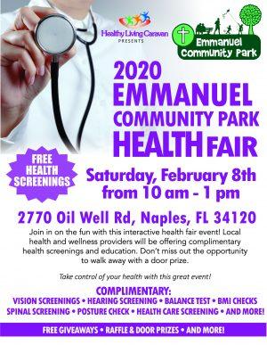 Emmanuel Community Park to host 2020 Health Fair