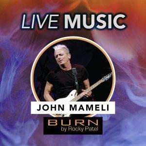 John Mameli Live at BURN by Rocky Patel