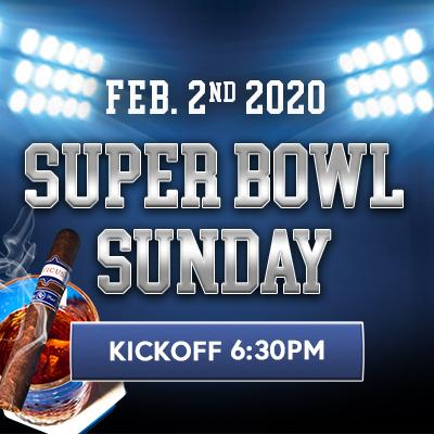 Super Bowl Sunday at BURN