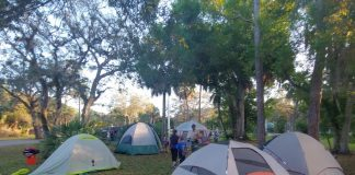 Junior Campout at Rookery Bay