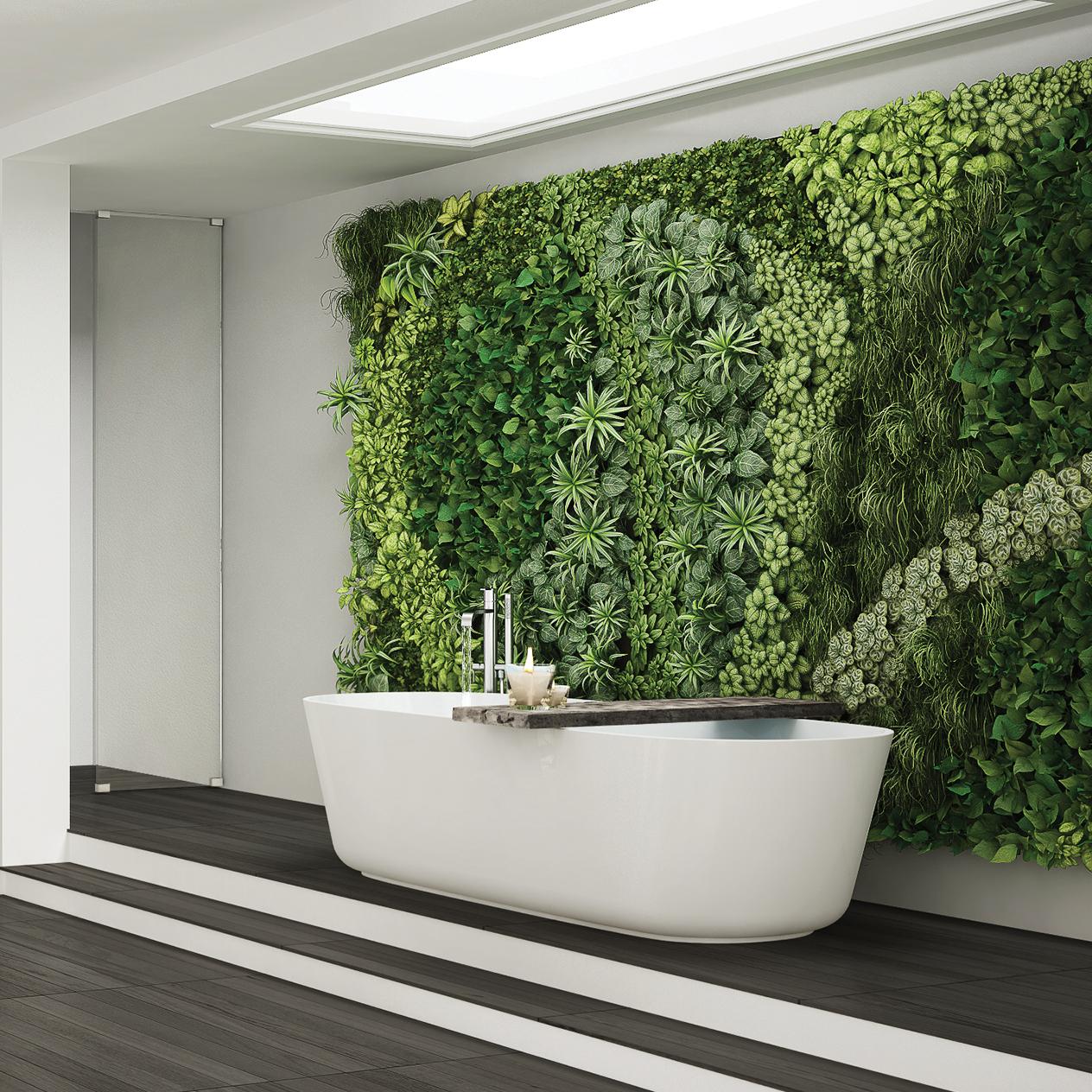 Walls With A Vertical Garden