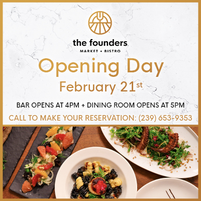 Opening Day at The Founders Bistro