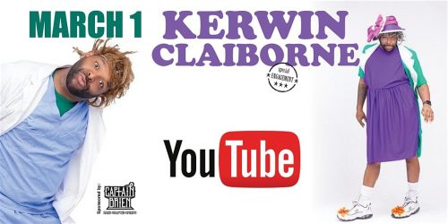 Comedian Kerwin Claiborne Live At Off the Hook Comedy Club!