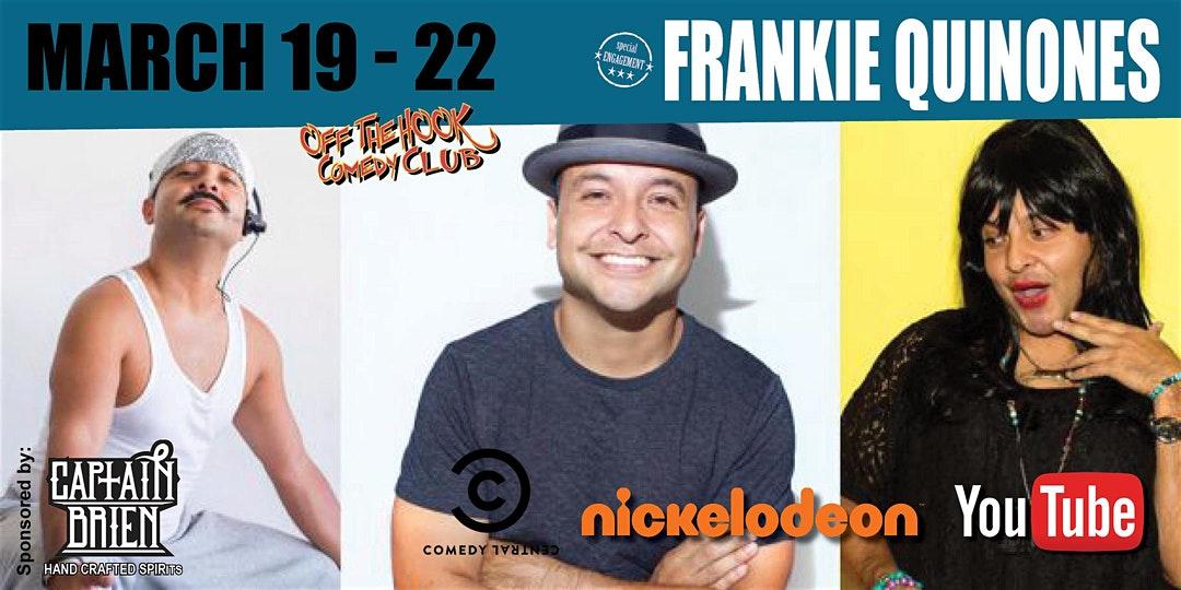Comedian Frankie Quinones