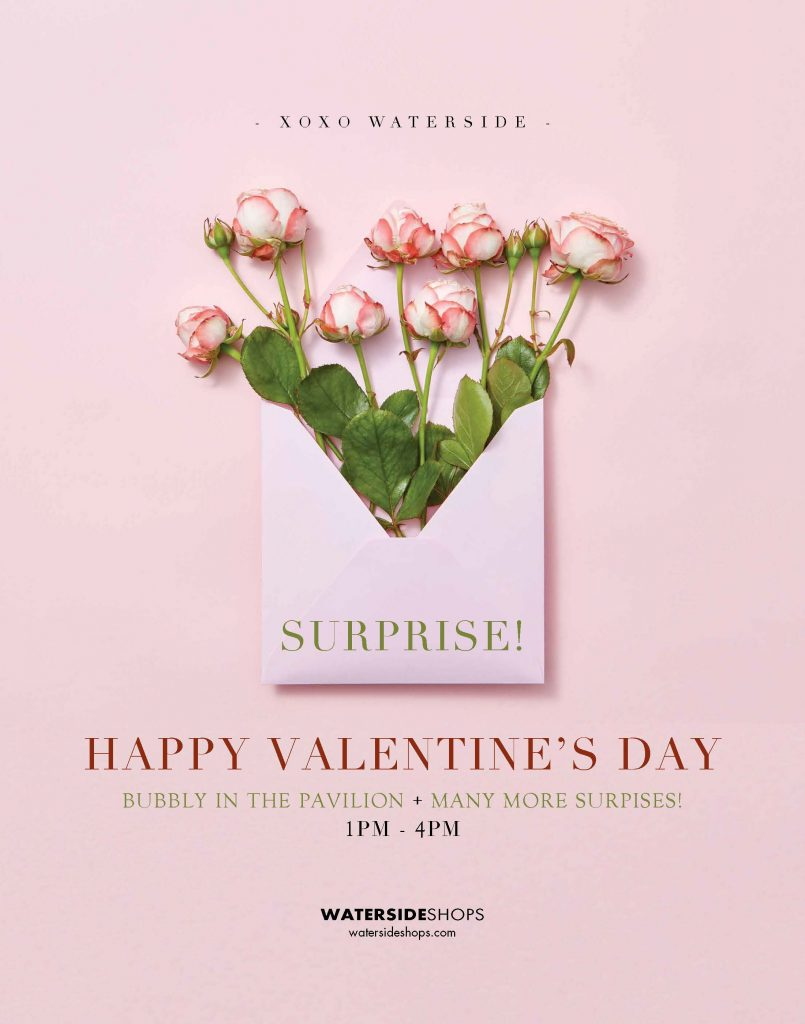 Valentine's Day at Waterside Shops