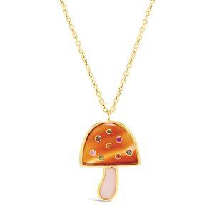 Magic Mushroom pendant with precious stones (price upon request), Brent Neale