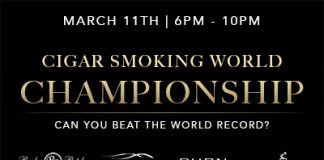 Cigar Smoking World Championship at BURN