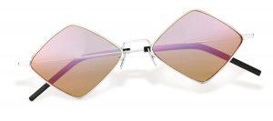 New Wave SL 302 Lisa palladium sunglasses ($450), Saint Laurent
