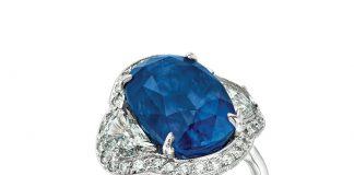 10.68-carat Burma sapphire ring