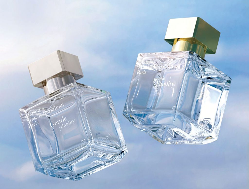 Maison Francis Kurkdjian's Gentle Fluidity Gold ($225 for 2.4 fl. oz.), featuring notes of coriander seed, musk, and vanilla. Saks Fifth Avenue, Naples (saksfifthavenue.com)