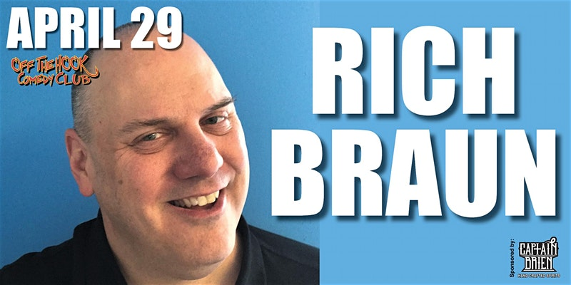 Comedian Rich Braun live