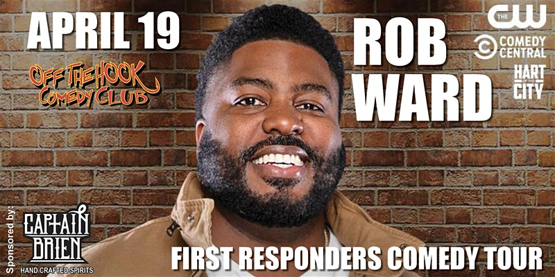 Rob Ward's First Responders Comedy Tour Live in Naples, Florida!