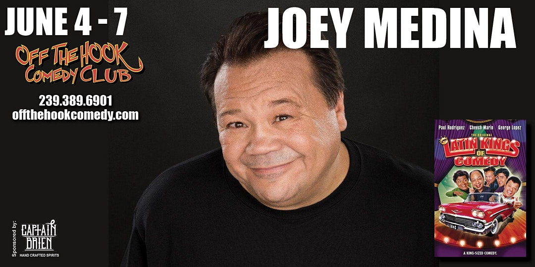Comedian Joey Medina Live at Off The Hook Comedy Club!