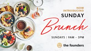 Sunday Brunch at The Founders Bistro