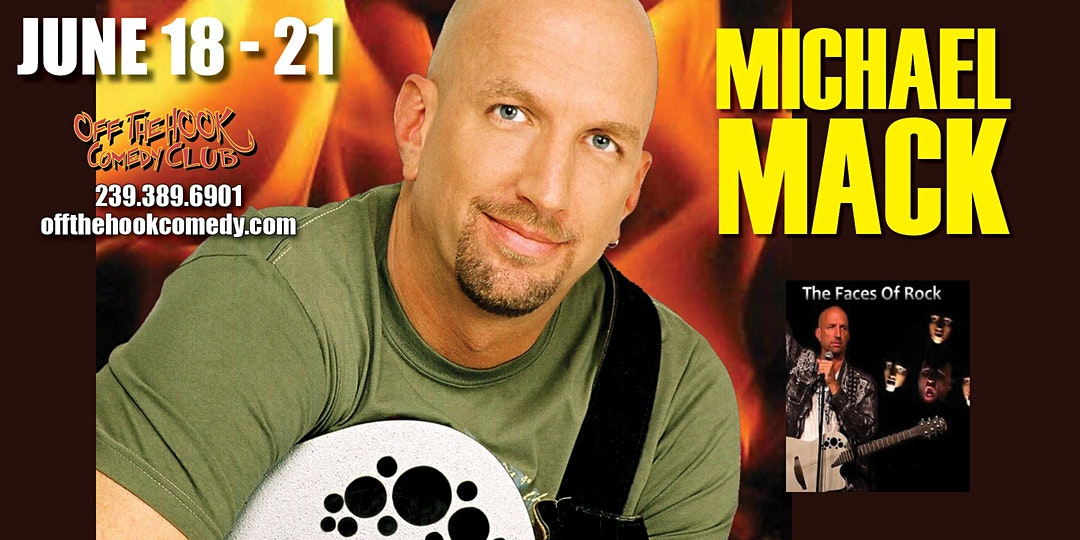 Comedian Michael Mack live in Naples, Florida