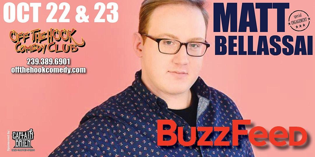 Matt Ballassai Comedy Tour at Off the hook Comedy club