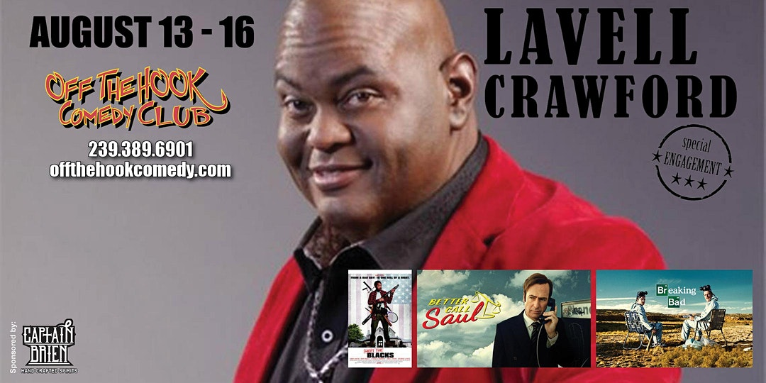 Comedian Lavell Crawford live in Naples, FL