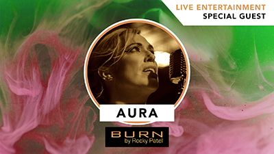Aura LIVE at Burn