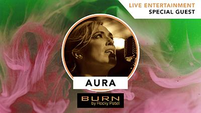 Aura LIVE at Burn