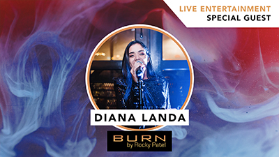 Diana Landa LIVE at Burn