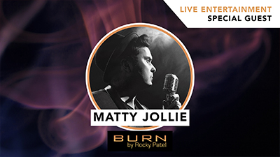 Matty Jollie LIVE at Burn