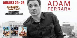 Comedian Adam Ferrara live at Off the hook Comedy club